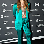 Freya Ridings arrivers at AIM Independent Music Awards at the Roundhouse on 3 September 2019, Camden Town, London, UK.