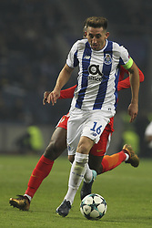 December 6, 2017 - Porto, Porto, Portugal - Porto's Mexican midfielder Hector Herrera during the UEFA Champions League Group G match between FC Porto and AS Monaco FC at Dragao Stadium on December 6, 2017 in Porto, Portugal. (Credit Image: © Dpi/NurPhoto via ZUMA Press)