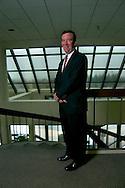 9/21/06 Omaha NE  Managing Director of Finance for TD Ameritrade Bill Gerber in the lobby of  TD Ameritrade corporate headquarters in Omaha, Neb Thursday morning..(Chris Machian/for Financial Week)