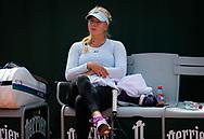 Clara Tauson of Denmark during practice ahead of the Roland-Garros 2021, Grand Slam tennis tournament, Qualifying, on May 28, 2021 at Roland-Garros stadium in Paris, France - Photo Rob Prange / Spain ProSportsImages / DPPI / ProSportsImages / DPPI