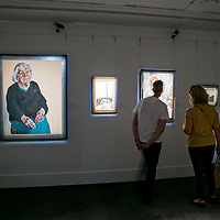 Jerwood Collection 25;<br /> Exhibition at Sotheby's;<br /> New Bond Street, London.<br /> 8th June 2018.<br /> <br /> © Pete Jones<br /> pete@pjproductions.co.uk