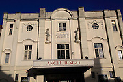 Former cinema now Angel Bingo hall building Devizes, Wiltshire, England, UK