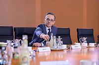 06 NOV 2019, BERLIN/GERMANY:<br /> Heiko Maas, SPD, Bundesaussenminister, vor Beginn der Kabinettsitzung, Bundeskanzleramt<br /> IMAGE: 20191106-01-005<br /> KEYWORDS: Kabinett, Sitzung