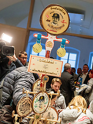 27.02.2018, Salzburg, AUT, PyeongChang 2018, ÖOC Medaillenfeier, im Bild Glücksbringer // during a ÖOC medal celebration Party after the Olympic Winter Games Pyeongchang 2018 in Salzburg, Austria on 2018/02/27. EXPA Pictures © 2018, PhotoCredit: EXPA/ JFK