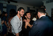 LORENZO MARTONE; MARK JACOBS; ANDRE BALAZS. Party hosted by Franca Sozzani and Remo Ruffini in honour of Bruce Weber to celebrate L'Uomo Vogue The Miami issuel by Bruce Weber. Casa Tua. James Avenue. Miami Beach. 5 December 2008 *** Local Caption *** -DO NOT ARCHIVE-© Copyright Photograph by Dafydd Jones. 248 Clapham Rd. London SW9 0PZ. Tel 0207 820 0771. www.dafjones.com.