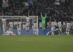 February 28, 2017 - Turin, Italy - Juventus Team during Tim Cup 2016/2017 match between Juventus v Napoli, in Turin, on February 28, 2017  (Credit Image: © Loris Roselli/NurPhoto via ZUMA Press)