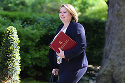 © Licensed to London News Pictures. 14/05/2019. London, UK. Karen Bradley - Secretary of State for Northern Ireland arrives in Downing Street for the weekly Cabinet meeting. Photo credit: Dinendra Haria/LNP