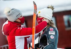 Katharina Liensberger (AUT) during Ladies' Giant Slalom at 57th Golden Fox event at Audi FIS Ski World Cup 2020/21, on January 16, 2021 in Podkoren, Kranjska Gora, Slovenia. Photo by Vid Ponikvar / Sportida