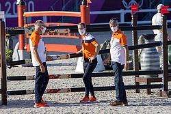 Ehrens Rob, NED, Van Der Vleuten Maikel, NED, Van Der Vleuten Eric, NED<br /> Olympic Games Tokyo 2021<br /> © Hippo Foto - Dirk Caremans<br /> 04/08/2021