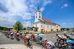 Peloton during 1st Stage of 27th Tour of Slovenia 2021 cycling race between Ptuj and Rogaska Slatina (151,5 km), on June 9, 2021 in Sports park Kranj, Kranj, Slovenia. Photo by Ziga Zupan / Sportida