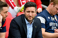 Bristol City manager Lee Johnson before the EFL Sky Bet Championship match between Bristol City and Hull City at Ashton Gate, Bristol, England on 21 April 2018. Picture by Graham Hunt.