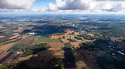 Image from a flight near Briggsville, Wisconsin on a beautiful autumn day.