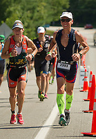 Timberman 70.3 from Ellacoya State Park.  ©2016 Karen Bobotas Photographer