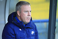 Kenny Jackett during the The FA Cup 2nd round match between Rochdale and Portsmouth at Spotland, Rochdale, England on 2 December 2018.