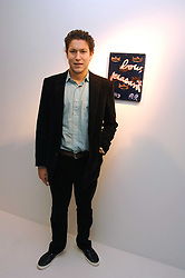 VITO SCHNABEL son of Julian Schnabel at an exhibition of paintings by artist Rene Richard at the Scream Gallery, Bruton Street, London on 3rd April 2008.<br /><br />NON EXCLUSIVE - WORLD RIGHTS