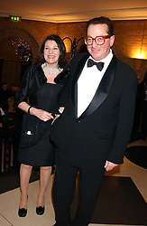 LORD & LADY SAATCHI at the 2005 Whitbread Book Awards 2005 held at The Brewery, Chiswell Street, London EC1 on 24th January 2006. The winner of the 2005 Book of the Year was Hilary Spurling for her biography 'Matisse the Master'.<br /><br />NON EXCLUSIVE - WORLD RIGHTS