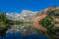 Lake Isabelle at 11,000 feet in the Indian Peaks Wilderness Area, near Ward, Colorado USA.