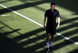 England's Harry Winks during the training session at iudad Deportiva Luis del Sol, Seville.