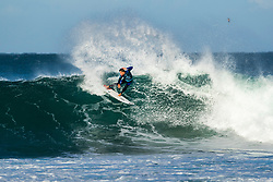 Jeremy Flores (FRA) advances directly to Round 3 of the 2018 Corona Open J-Bay after winning Heat 12 of Round 1 at Supertubes, Jeffreys Bay, South Africa.