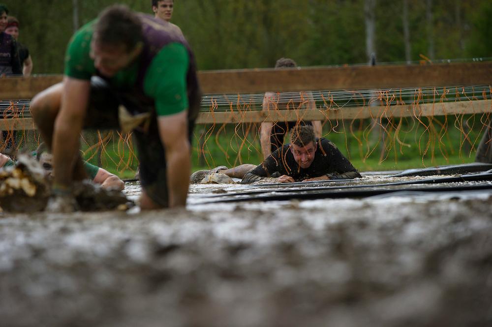Tough Mudder - May 2012 - Northamptonshire - Electric Eel - Warren Pole