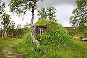 Sámi traditional houses - Samiske gammer