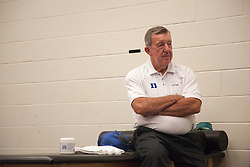 31 May 2010: Duke Blue Devils men's lacrosse coach emeritus Roy Skinner before playing the Notre Dame Irish in the NCAA Lacrosse Championship at M&T Bank Stadium in Baltimore, MD.  The Blue Devils would go on that day to win the national title.