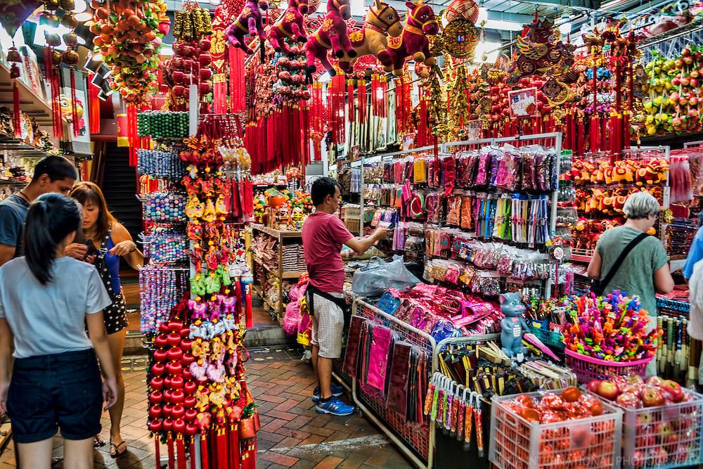 Souvenir Shop in Chinatown