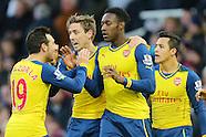 West Ham United v Arsenal 281214