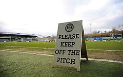 General views - Mandatory by-line: Nizaam Jones/JMP - 16/01/2021 - FOOTBALL - innocent New Lawn Stadium - Nailsworth, England - Forest Green Rovers v Port Vale - Sky Bet League Two
