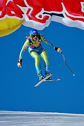 23.01.2010, Hahnenkamm, Kitzb¸hel, AUT, FIS Worldcup Alpin Ski, 70. Hahnenkammrennen Abfahrt, im Bild JERMAN Andrej, SLO, Stoeckli, EXPA Pictures © 2010, Photographer EXPA/ S. Zangrando/ SPORTIDA PHOTO AGENCY
