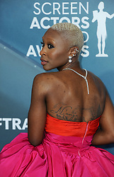 Cynthia Erivo at the 26th Annual Screen Actors Guild Awards held at the Shrine Auditorium in Los Angeles, USA on January 19, 2020.