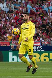 October 28, 2017 - Madrid, Spain - Alvaro..Draw at 1 in Wanda Metropolitano stadium. (Credit Image: © Jorge Gonzalez/Pacific Press via ZUMA Wire)