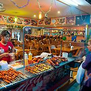 Thai street food in Phi-Phi island, Thailnd