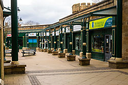 Sheffield 28th March 2020 - The Parade Shopping Centre Hillsborough desolate after emergency measures to combat Covid-19 were announced by Prime minister Boris Johnson on Monday evening 23rd march<br /> <br /> 28 March 2020<br /> <br /> www.pauldaviddrabble.co.uk<br /> All Images Copyright Paul David Drabble - <br /> All rights Reserved - <br /> Moral Rights Asserted -