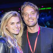 NLD/Amsterdam/20161004 - Wereldpremiere van Inspiration360 2016, Bas Smit en partner Nicolette van Dam