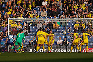 Goal, Wycombe Wanderers score, Oxford United 0-1 Wycombe Wanderers during the EFL Sky Bet League 1 match between Oxford United and Wycombe Wanderers at the Kassam Stadium, Oxford, England on 30 March 2019.