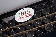 old bottles in the cellar 1815 ferreira port lodge vila nova de gaia porto portugal