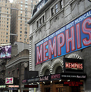 The Musical 'Memphis' at a theatre on Broadway, New York City 2011
