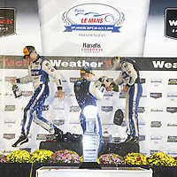 Braselton, GA - Oct 01, 2016:  The WeatherTech Sportscar Championship teams take to the track for the Petit Le Mans at Road Atlanta in Braselton, GA.