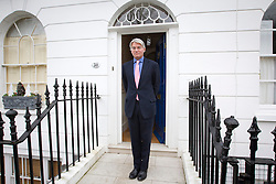 © Licensed to London News Pictures. 19/12/2012. London, UK. Former Conservative chief whip Andrew Mitchell is seen outside his house in London today (19/12/12) the day after CCTV footage was released that cast doubt on his alleged verbal abuse of Downing Street police officers . Photo credit: Matt Cetti-Roberts/LNP