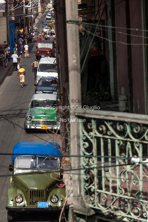 Cuba, Santiago de Cuba, centre historique, rue Heredia // Cuba, Santiago de Cuba, old historic city center, Heredia street
