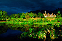 Inverlochy Castle (luxury hotel), Ft. William, Scottish Highlands, Scotland