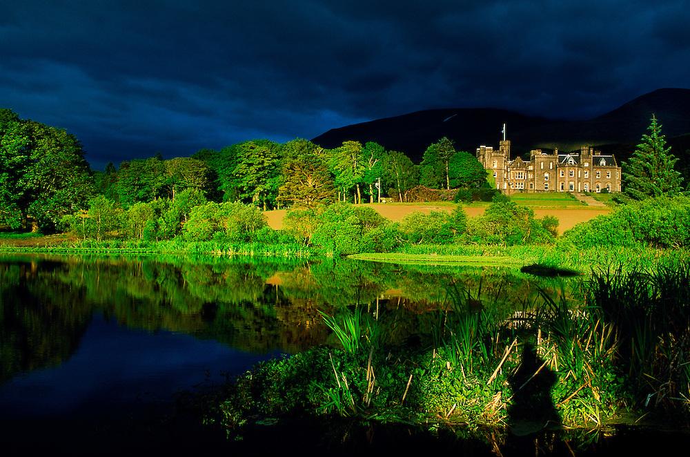 Inverlochy Castle (luxury hotel), Ft. William, Scottish Highlands, Scotland
