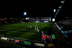 Exeter Chiefs run out to face Northampton Saints at Franklin's Gardens - Mandatory by-line: Robbie Stephenson/JMP - 04/09/2020 - RUGBY - Franklin's Gardens - Northampton, England - Northampton Saints v Exeter Chiefs - Gallagher Premiership Rugby