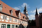 Schlosshof, Erbach, Odenwald, Naturpark Bergstraße-Odenwald, Hessen, Deutschland | palace yard, Erbach, Odenwald, Hesse, Germany