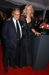 Actress UMA THURMAN and DIEGO DELLA VALLE at a party to celebrate the opening of Roger Vivier in London held at The Orangery, Kensington Palace, London on 10th May 2006.<br /><br />NON EXCLUSIVE - WORLD RIGHTS