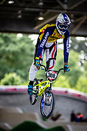 #309 (SUKPRASERT Komet) THA at Round 5 of the 2019 UCI BMX Supercross World Cup in Saint-Quentin-En-Yvelines, France