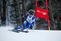Giant Slalom at Proctor/Blackwater Ski Area.  ©2017 Karen Bobotas Photographer