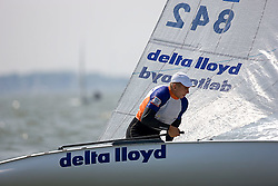 08_002410 © Sander van der Borch. Medemblik - The Netherlands,  May 23th 2008 . Third day of the Delta Lloyd Regatta 2008.