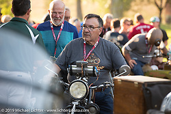 Motorcycle Cannonball coast to coast vintage run. Stage 8 (314 miles) from Spirit Lake, IA to Pierre, SD. Saturday September 15, 2018. Photography ©2018 Michael Lichter.